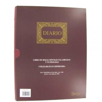 LIBRO HOJAS MÓVILES A4 100 HOJAS DIARIO 15 ANILLAS MIQUEL RIUS