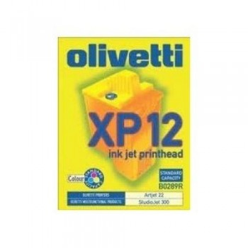 OLIVETTI CARTUCHO TINTA COLOR B0289