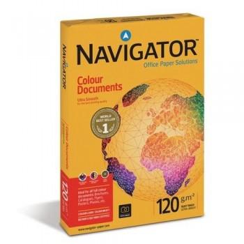 Papel A4 120 gr 250 hojas impresora láser Navigator