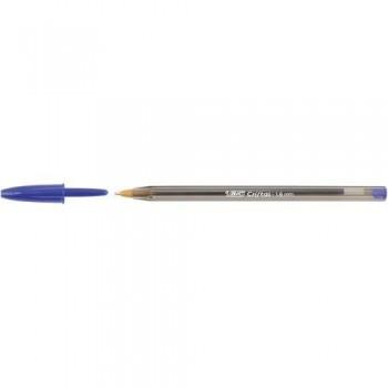Bolígrafo tinta aceite punta 1,6 mm azul Bic Cristal Large