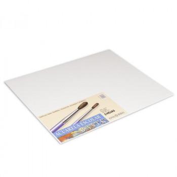 Papel acuarela 50x70cm 370 gr 25 hojas Basik