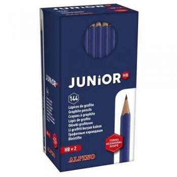 Lápiz grafito Economy pack 144 un. Alpino Junior