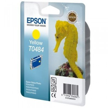 EPSON CARTUCHO TINTA T0484 AMARILLO