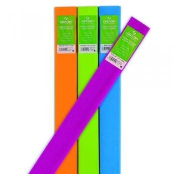 Papel crepé 0,5 x 2,5m 40 gr. rollo verde billar Canson