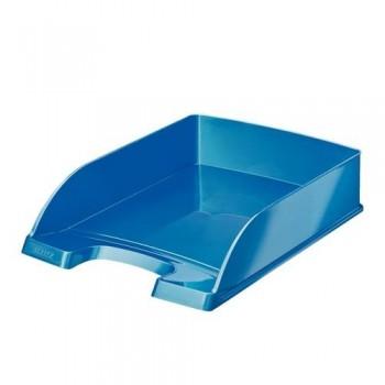 Bandeja sobremesa apilable Leitz WoW formato vertical azul metalizado