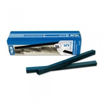 Carboncillo natural   10x10 mm caja 5 barritas Milan