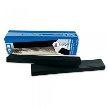 Carboncillo natural 22x10 mm caja 3 barritas Milan