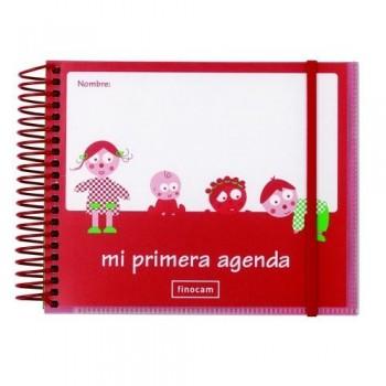 Agenda Infantil D/P sin fechar castellano Finocam