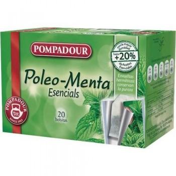 MENTA POLEO CAJA 20 BOLSITAS 1,25 GR. POMPADOUR
