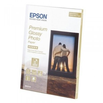 PAPEL FOTO 13X18 255 GR. 30 HOJAS FOTOGRÁFICO GLOSSY PREMIUM INKJET EPSON