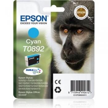 EPSON CARTUCHO TINTA C13T08924011 Nº T0892 CIAN