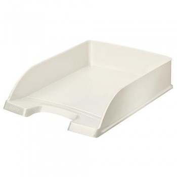 Bandeja sobremesa apilable Leitz WoW formato vertical blanco perla