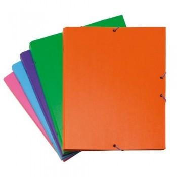 Carpeta clasificadora folio forrada pp 12 separadores color verde claro Grafoplas