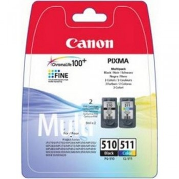 CANON CARTUCHO TINTA 2970B010 PG-510/CL-511 P2 NEGRO/COLOR