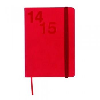 Agenda escolar D/P castellano Natural Croma rojo M4 Finocam