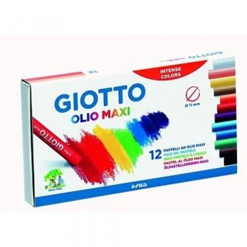 Cera al óleo estuche 12 un. Olio Giotto