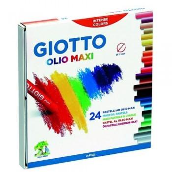 Cera al óleo estuche 24 un. Olio Giotto