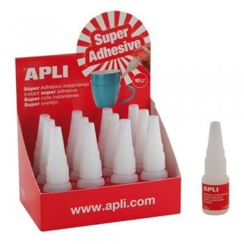 Adhesivo instantáneo 10g transparente Apli
