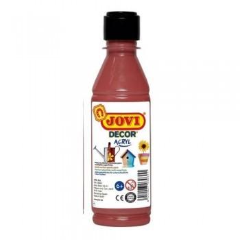 Pintura multisuperficie botella 250 ml. color Marrón JOVIDECOR