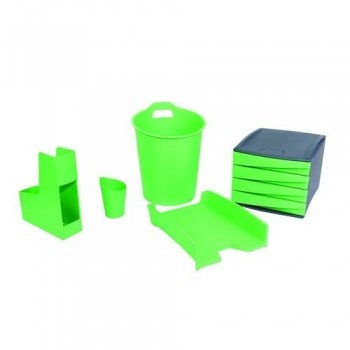 SET DE ACCESORIOS DE ESCRITORIO GREEN2DESK VERDE FELLOWES