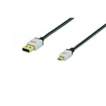 CABLE USB 2.0 A-MICRO B 1.0MT EDN