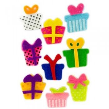 Figuras fieltro adhesivas 3D regalos Fixo Kids