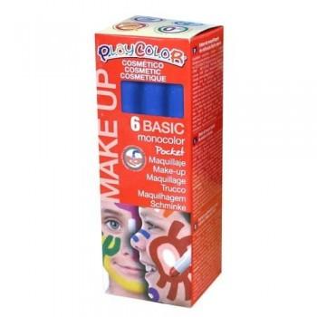 Maquillaje azul PlayColor Make Up Basic Pocket 6 un.