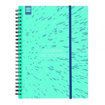Cuaderno-Agenda Docente espiral 230x310mm castellano Finocam