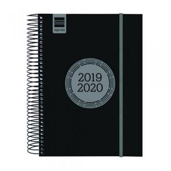 Agenda escolar D/P E10 azul ESPIR LABEL Finocam castellano