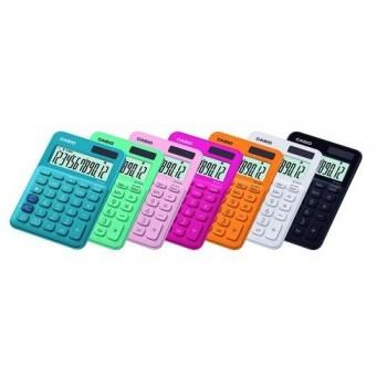 Calculadora sobremesa 12 dígitos MS-20UC Casio rosa